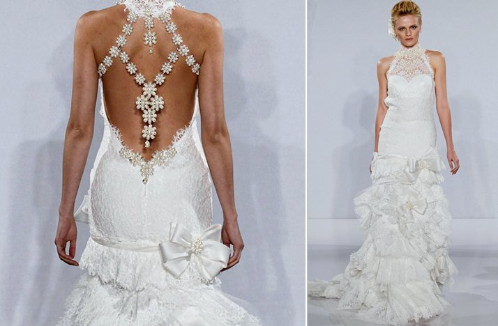 ugly wedding dresses of 2012 bridal gown gone bad overly embellished