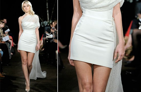 ugly wedding dresses of 2012 way too short trashy