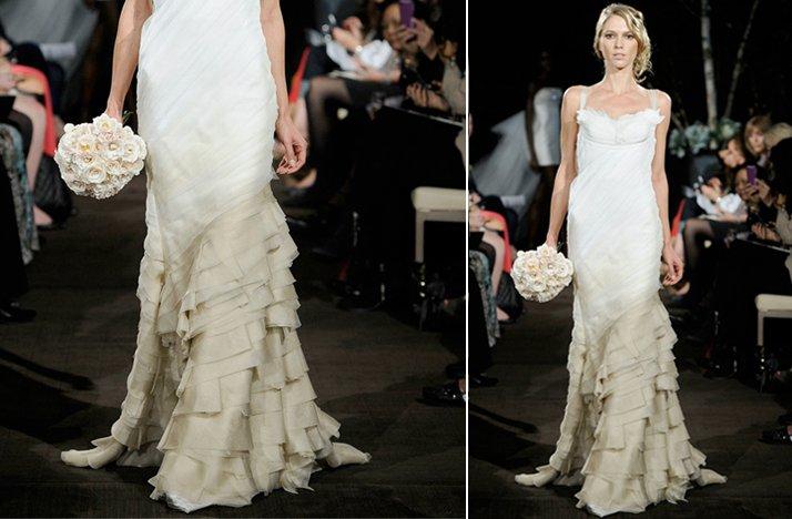 Ugly Wedding Dress.Ugly Wedding Dresses Of 2012 Ombre Gone Wrong