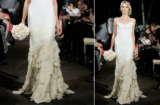 ugly wedding dresses of 2012 ombre gone wrong