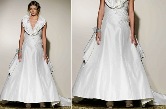 ugly wedding dresses 2012 too short bridal gowns