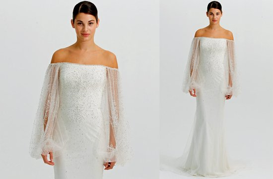 ugly wedding dresses 2012 sheer long sleeves geni in bottle