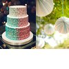 Mint-green-wedding-colors-ombre-wedding-cake-paper-lanterns.square