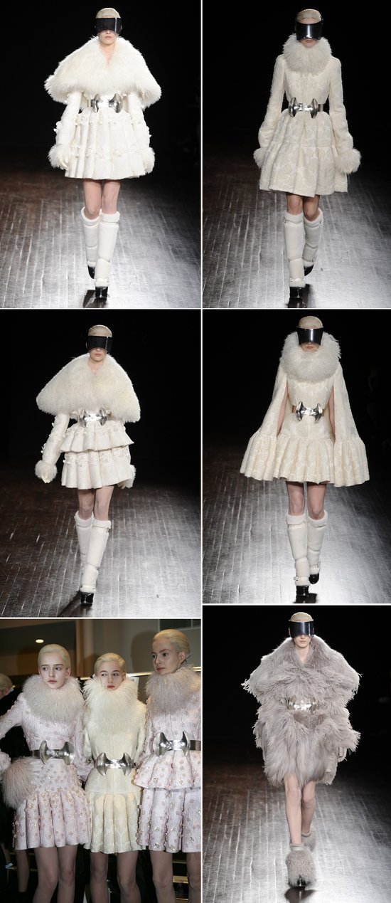 2012 wedding dress inspiration sarah burton for alexander mcqueen fall 2012
