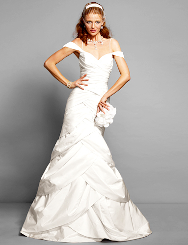 photo of Spring 2012 wedding dress by Bebe- 1