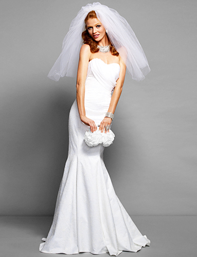 photo of Spring 2012 wedding dress by Bebe- 2