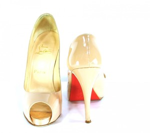 photo of brides something old christian louboutin wedding heels