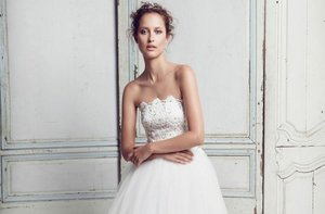 photo of Ethereal Colette Dinnigan wedding dress, 2012