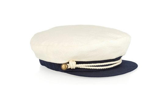 photo of Eugenia Kim Marine linen cap
