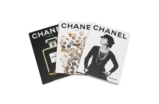 photo of Chanel hardcover books via Net-a-Porter