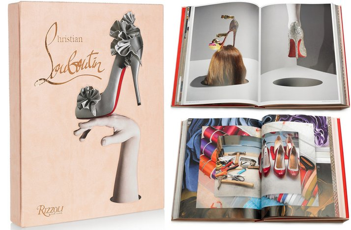 christian louboutin signed book