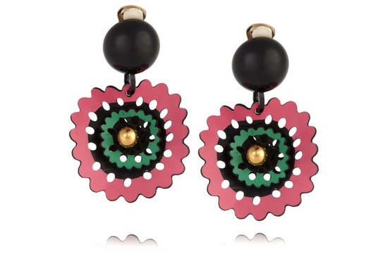 photo of Destination-inspired earrings via Net-a-Porter