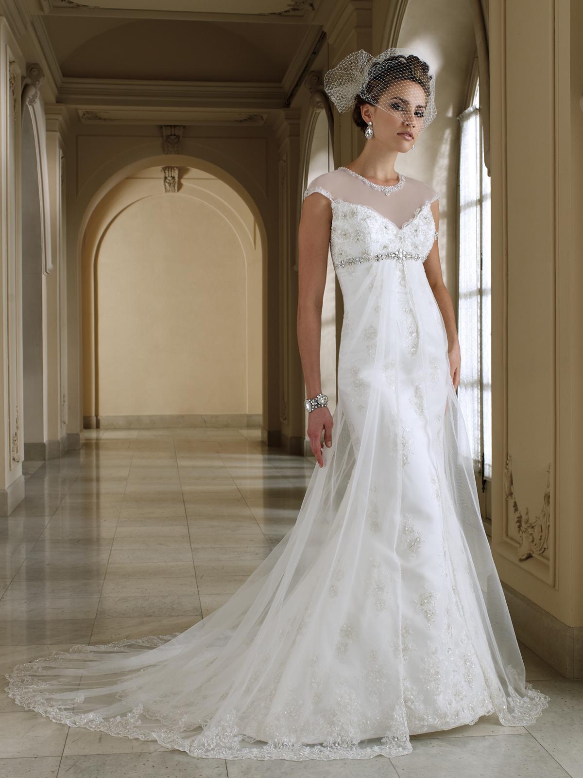 2012 wedding dress david tutera for mon cheri bridal gowns 112205. Black Bedroom Furniture Sets. Home Design Ideas