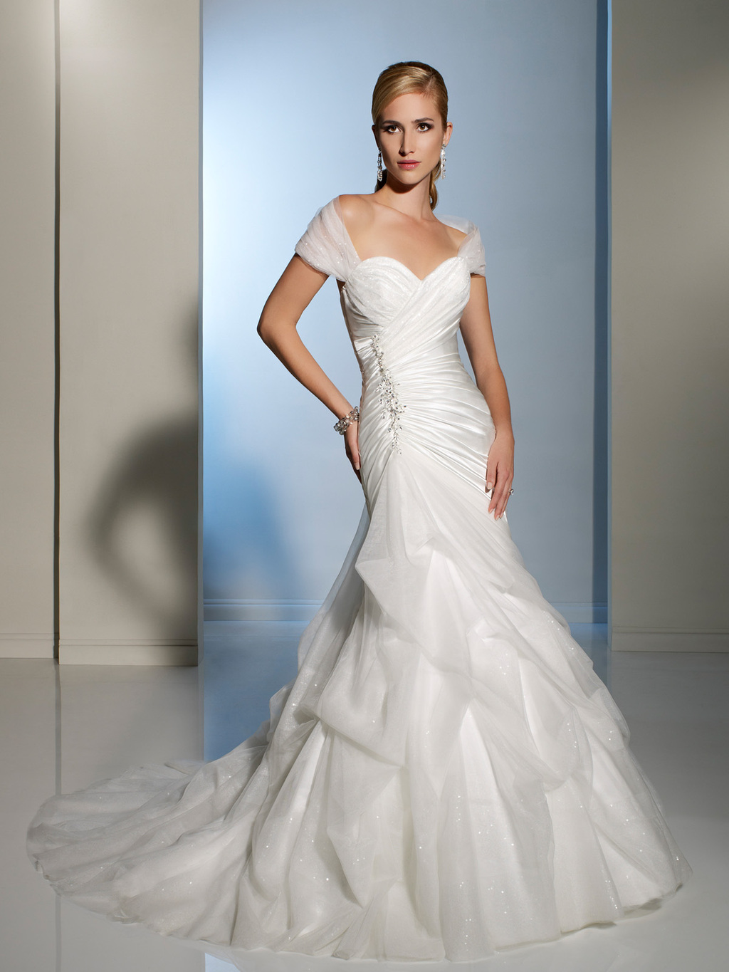 2012 wedding dress sophia tolli for mon cheri bridal gowns Y11204