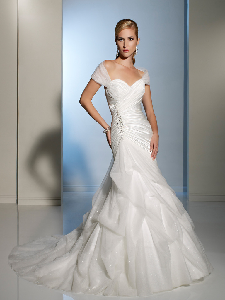 photo of 2012 wedding dress sophia tolli for mon cheri bridal gowns Y11204