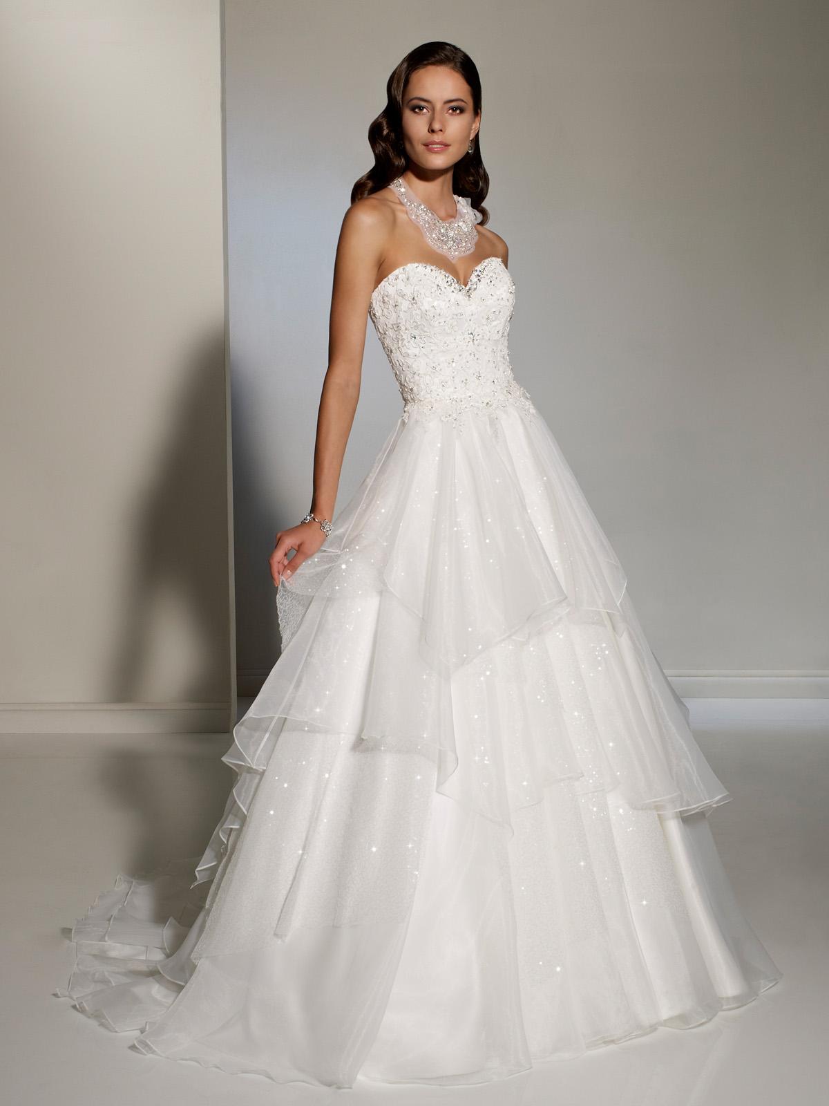 2012 wedding dress sophia tolli for mon cheri bridal gowns for Sophia tulle wedding dress