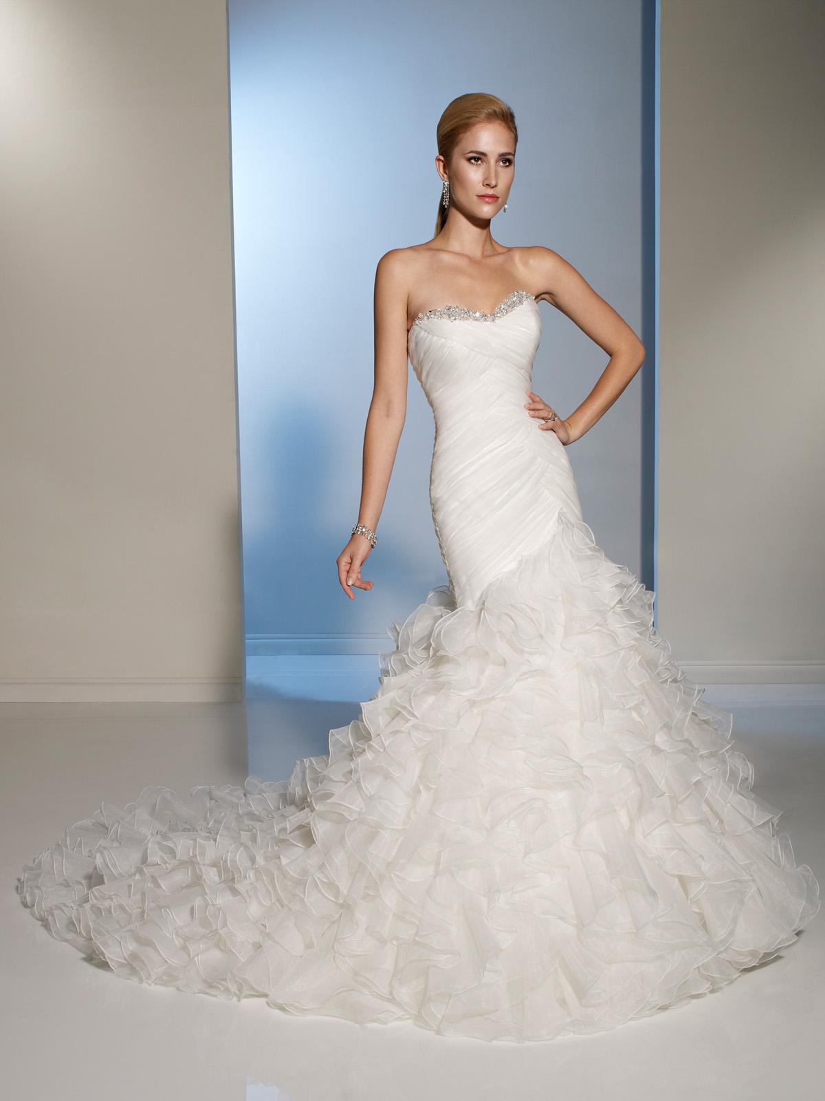 2012 wedding dress sophia tolli for mon cheri bridal gowns for Mon cheri wedding dresses