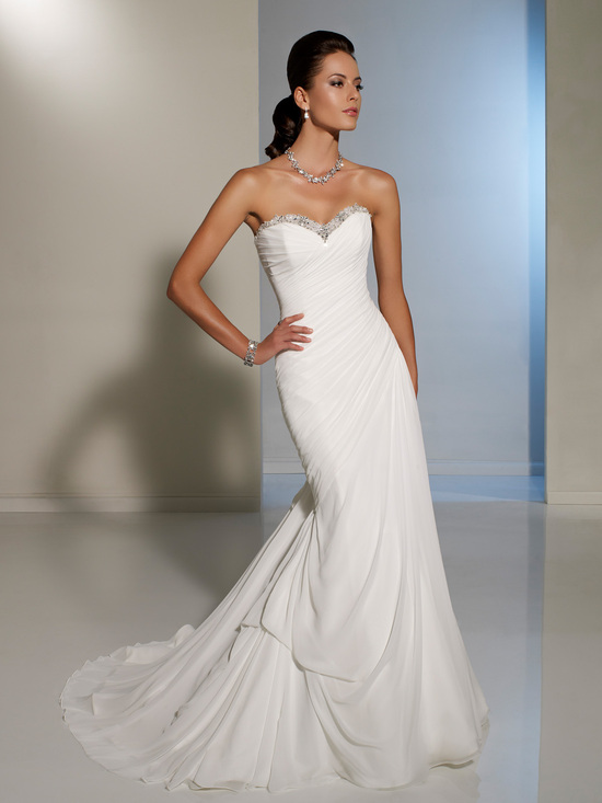 2012 wedding dress sophia tolli for mon cheri bridal gowns Y11225