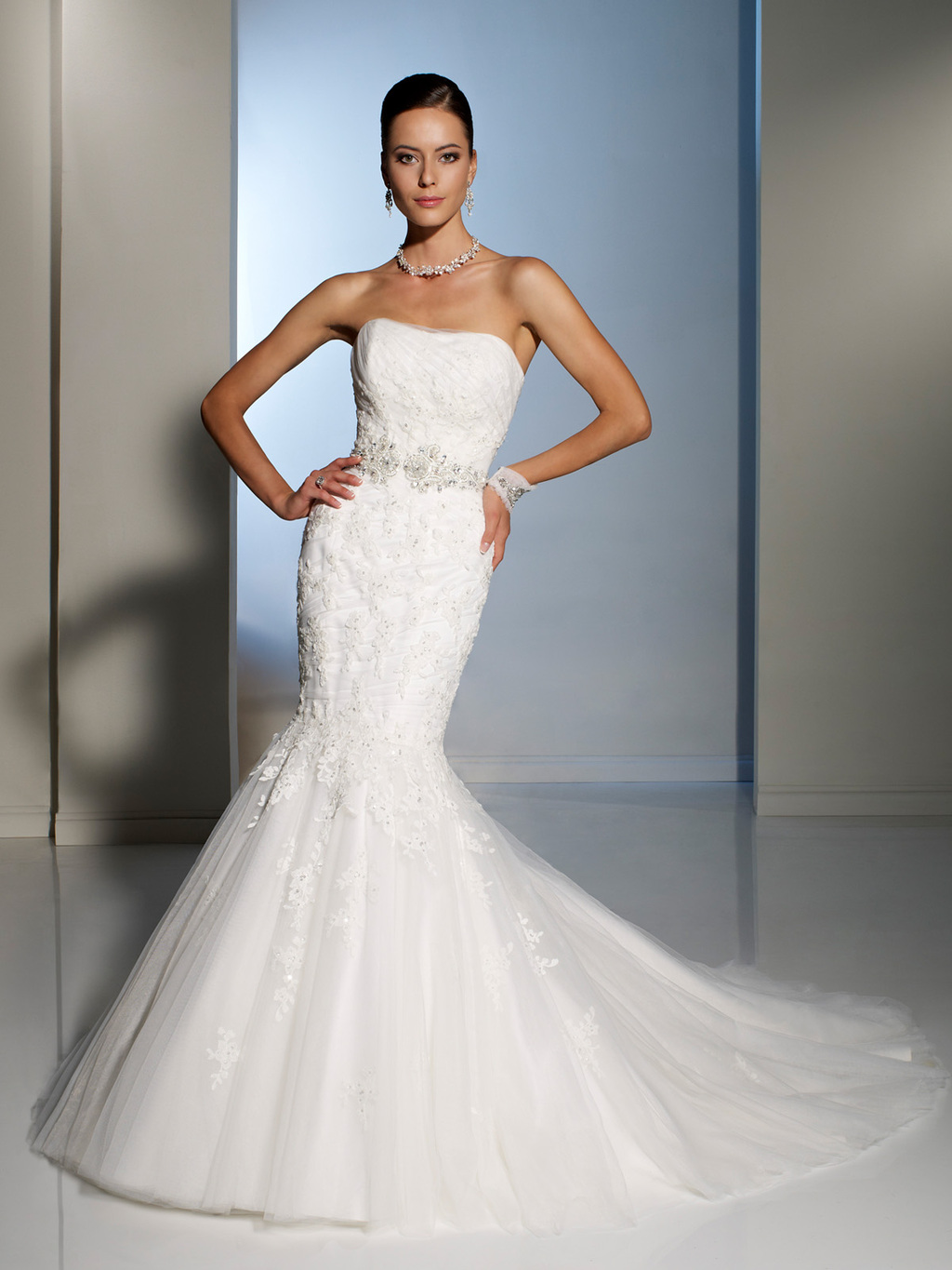 2012 wedding dress sophia tolli for mon cheri bridal gowns Y11227