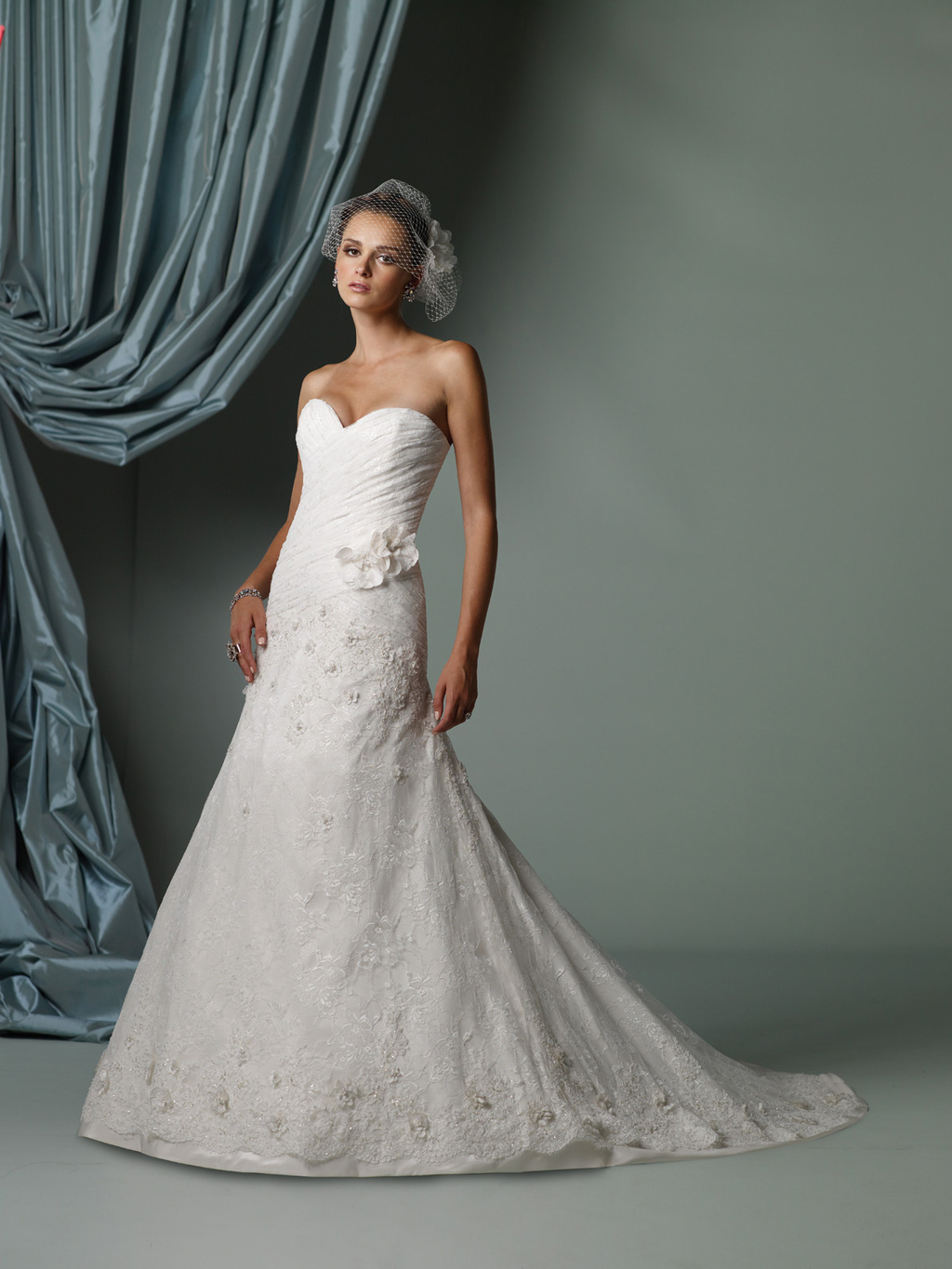 2012 wedding dress james clifford for mon cheri bridal gowns J11237