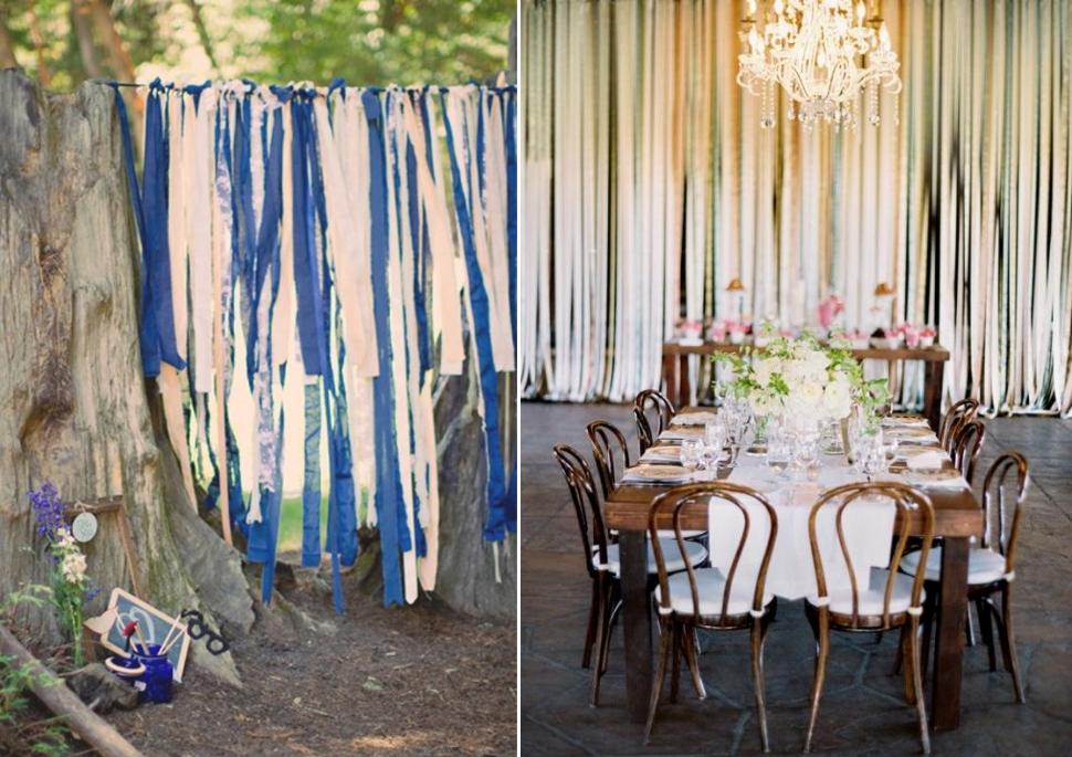 Wedding Reception Photo Booth Ideas: Whimsical Wedding Reception Decor Photobooth Backdrop