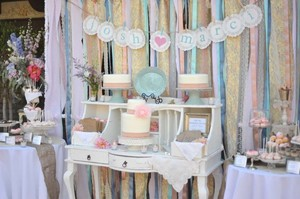 photo of Five Ribbon Backdrop Ideas for your DIY Wedding