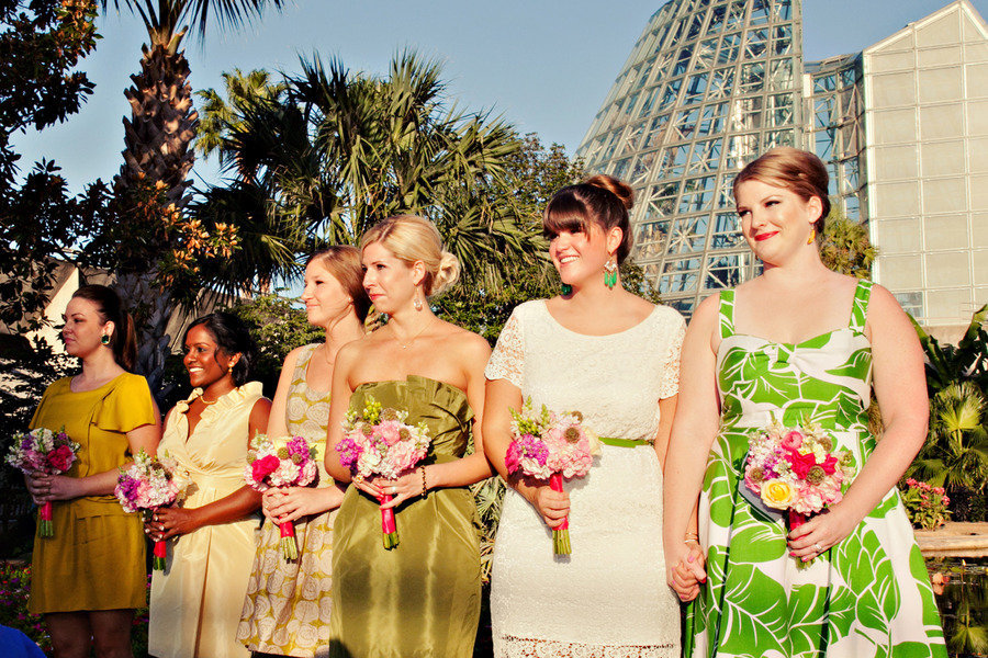 Chic-mix-and-match-bridesmaids-outdoor-ceremony.full
