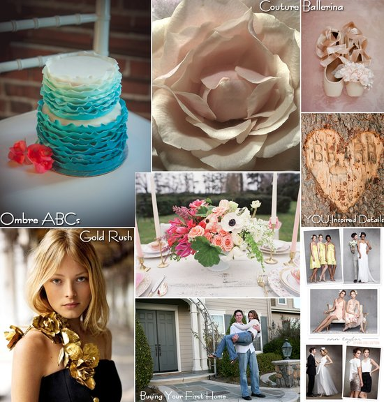 photo of weekly wedding inspiration best blogs for brides engaged