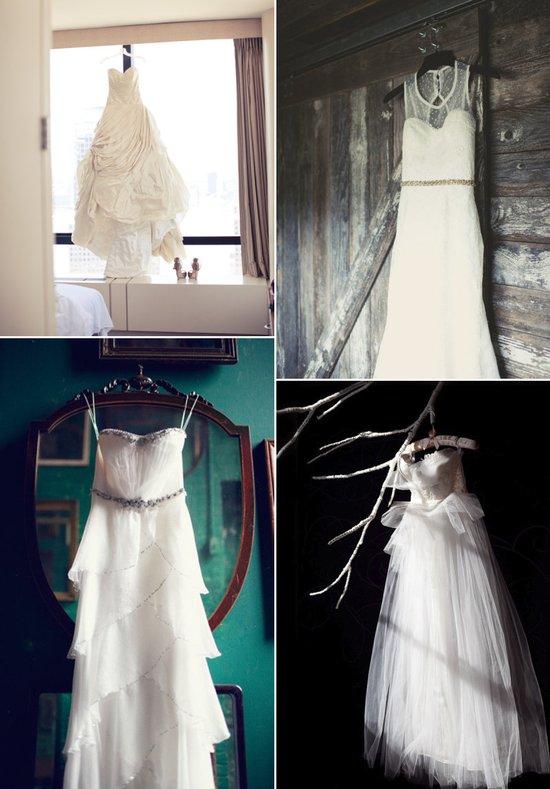 photo of romantic wedding photos bridal gowns captured