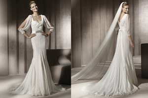 photo of Lust-Worthy Lace Wedding Dresses