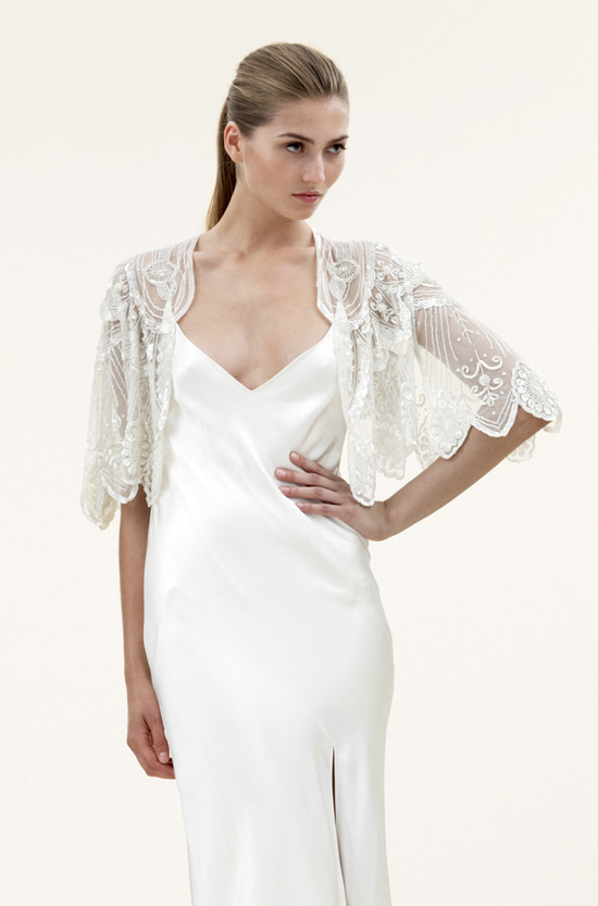 photo of bridal accessories jenny packham 2012 wedding dress
