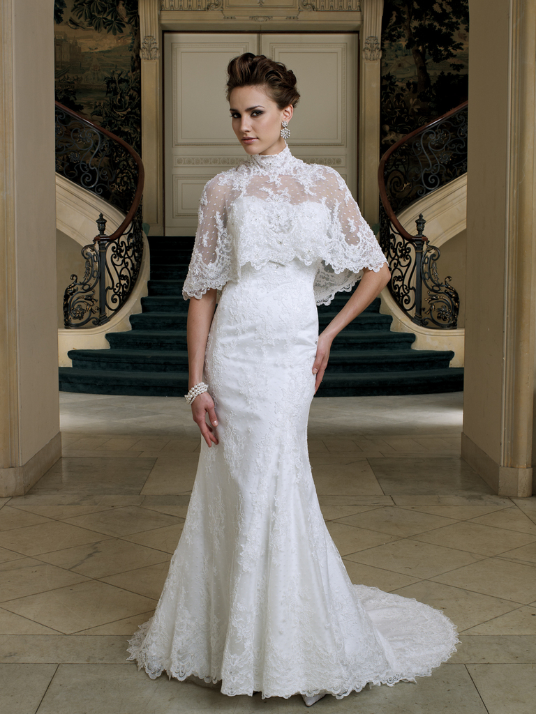 photo of 2012 Bridal Style Trend: Cape Toppers