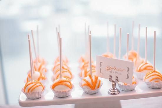 orange wedding color palette modern with grey