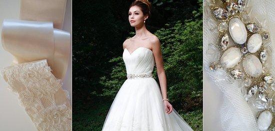 photo of bridal belts 2012 wedding dress accessories augusta jones