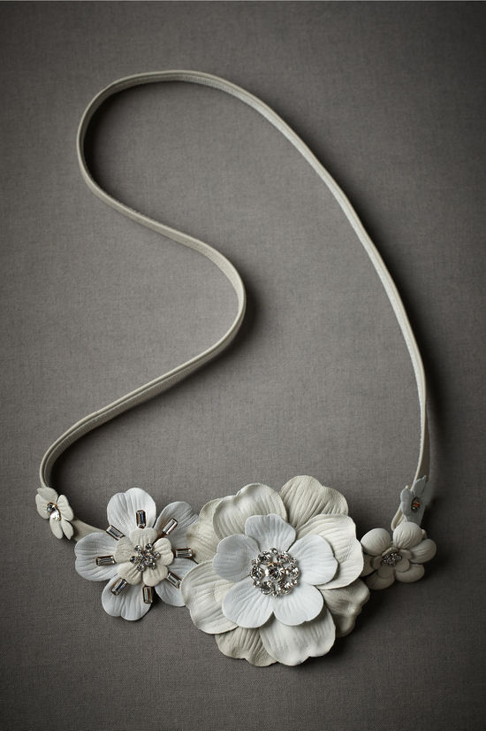 photo of Bridal sashes and belts by BHLDN