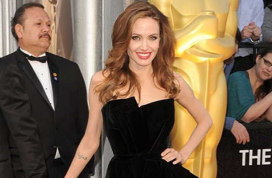 2012 oscars red carpet wedding hair makeup inspiration angelina jolie