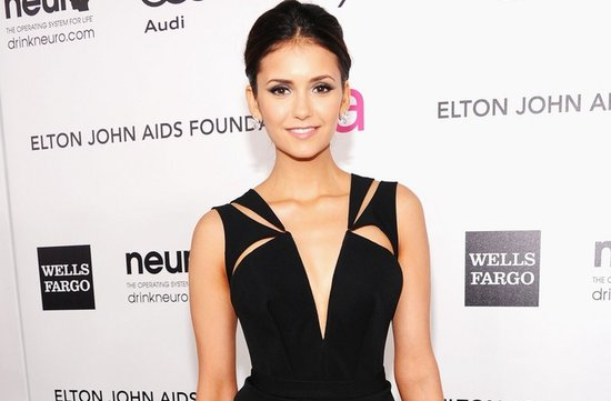 2012 oscars red carpet wedding hair makeup inspiration nina dobrev