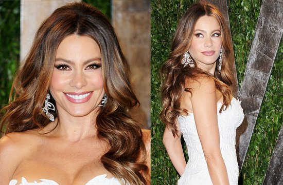 2012 oscars red carpet wedding hair makeup inspiration sophia vergara