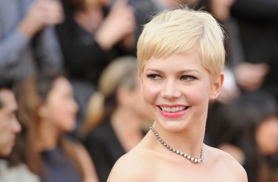 2012 oscars red carpet wedding hair makeup inspiration michelle williams