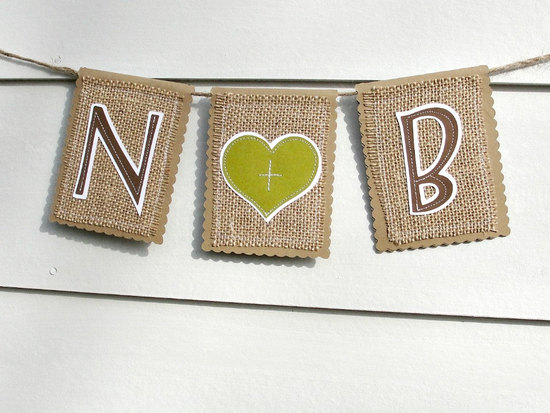 modern burlap wedding sign rustic chic weddings