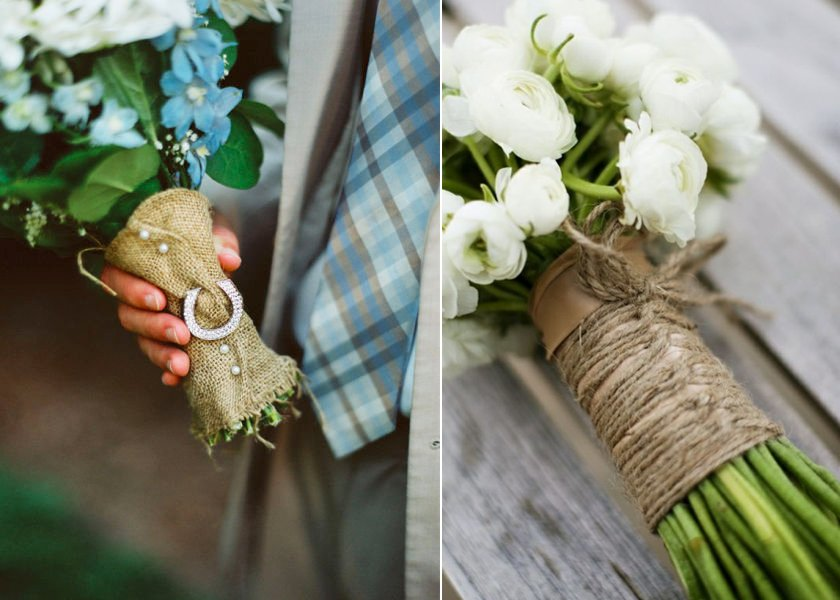 Bridal-bouquets-wrapped-with-burlap.full