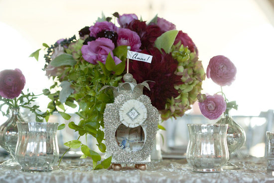 stunning wedding reception centerpieces- romantic wedding style