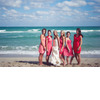 Beach-wedding-bright-wedding-color-palette-pink-bride-with-maids.square