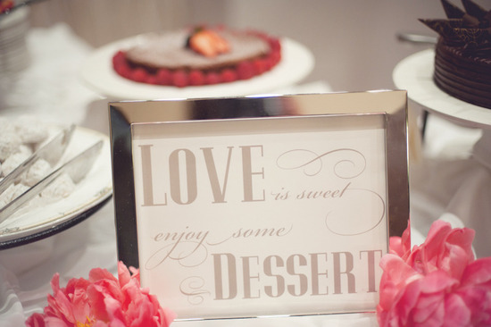 beach wedding bright wedding color palette pink reception dessert bar