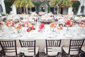 photo of Boho Meets Black Tie Beach Wedding Inspiration