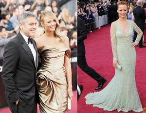 photo of george clooney stacy keibler 2012 oscars wedding dress ideas