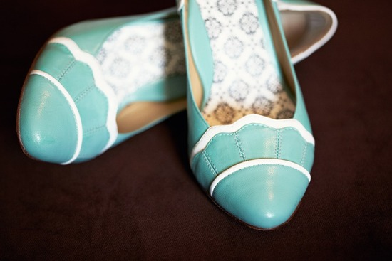 something blue wedding shoes vintage inspired