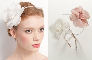 photo of Soft Petals bridal headband