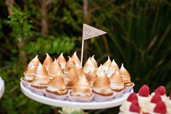 mini wedding desserts unique reception ideas