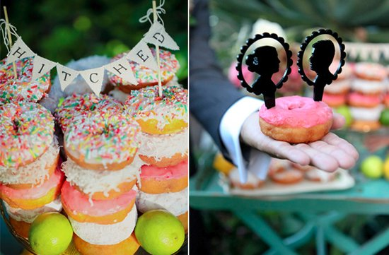 unique wedding reception ideas ditch wedding cake for other sweets 1